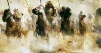 """For Muslims, the Battle of Badr was a major event in which the Muslims defeated a powerful Quraysh army against all odds after being driven out from their homes in Makkah following economic sanctions and persecution."" (ilmfeed.com is a UK-based Muslim website)"
